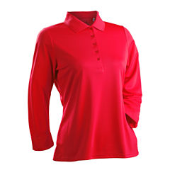 Nancy Lopez Golf Luster 3/4 Sleeve Polo
