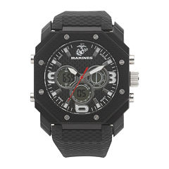 Wrist Armor® C28 Mens US Marine Corps Analog-Digital Chronograph Watch