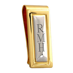 Personalized Two-Tone Money Clip