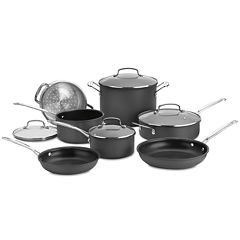 Cuisinart® Chefs Classic 11-pc. Hard-Anodized Cookware Set