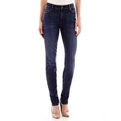 Liz Claiborne® City-Fit Skinny Jeans - Tall