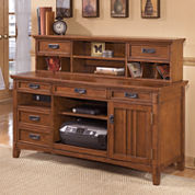 desk hutches home office furniture for the home jcpenney