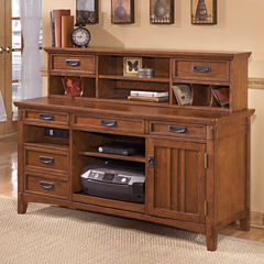 Signature Design by Ashley® Cross Island Desk Hutch