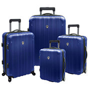 Traveler's Choice® New Luxembourg 4-pc. Expandable Hardsided Luggage Set
