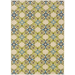 Covington Home Country Cross Indoor/Outdoor Rectangular Rug