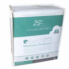 King Koil Terry Waterproof Mattress Protector