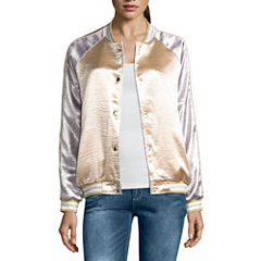 i jeans by Buffalo Metallic Bomber Jacket