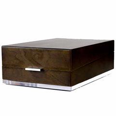 Hives & Honey Mason Walnut Valet & Watch Box