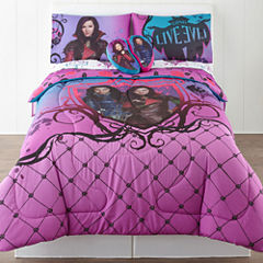 Disney® Descendants Reversible Twin/Full Comforter & Accessories