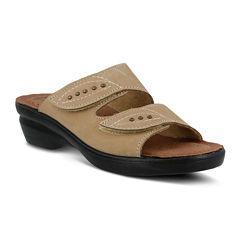 Flexus Aterie Nubuck Slide Sandals