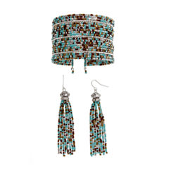 EL by Erica Lyons El By Erica Lyons Sdbd Cuff And Ears Womens 2-pc. Jewelry Set