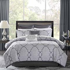 Madison Park Anuok 12-pc. Jacquard Comforter Set