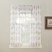 Eve's Garden Rod-Pocket Kitchen Curtains