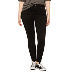 Blue Spice Skinny Jeans-Juniors Plus