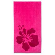 Hibiscus 2-pc. Printed Beach Towel Set