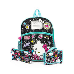 HELLO KITTY 5PC BACKPACK SET
