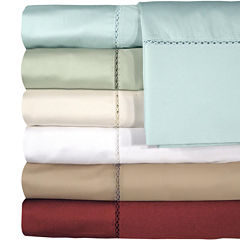 American Heritage 500tc Bella  Cotton Sateen Embroidered Sheet Set
