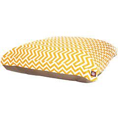 Majestic Pet Zig-Zag Rectangular Bed