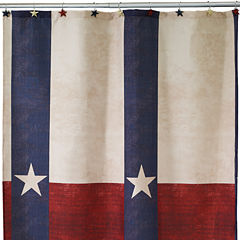 Avanti Texas Star Shower Curtain