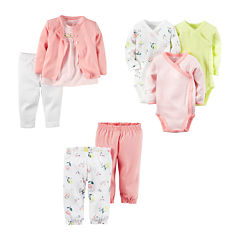 Carter's® 3-pk. Bodysuits, 3-pc. Cardigan Set or 2-pk. Pants - Baby Girls newborn-24m