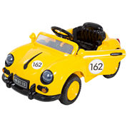 Lil' Rider 58 Speedy Sportster Classic Car with Remote - Yellow