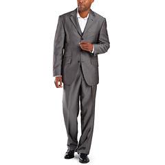 Steve Harvey® 3-Button Black Stripe Suit Separates - Big & Tall