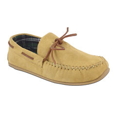 Slipperooz by Deer Stags® Fudd Mens Indoor/Outdoor Moccasin Slippers