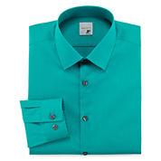 JF J. Ferrar® Easy-Care Stretch Dress Shirt - Super Slim