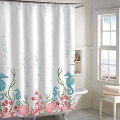 Destinations Sea Horse Shower Curtain