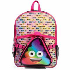 Emoji Poo Backback with Lunch Tote