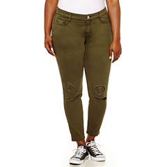 Arizona Ankle Pants-Juniors Plus