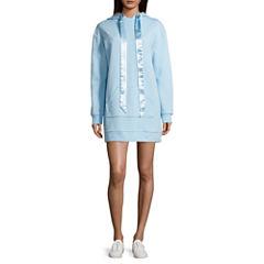 Flirtitude Sweatshirt Dress- Juniors