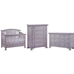 Murnire Medford 3-PC Baby Furniture Set- Grey