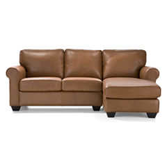 Leather Possibilities 2-pc. Right-Arm Chaise/Loveseat Sectional