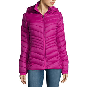 Xersion Womens Packable Puffer Jacket