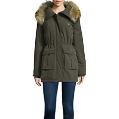 a.n.a® Faux-Fur Trim Parka