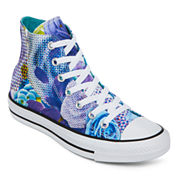 Converse® Chuck Taylor All Star Hi Top Womens Floral Print Sneakers