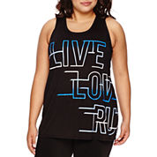 City Streets® Muscle Tank Top - Juniors Plus