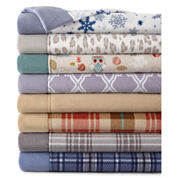 JCPenney Home™ Heavyweight Fleece Sheet Set & Pillowcase Collection