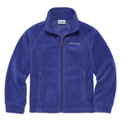 Columbia Lightweight Fleece Jacket-Big Kid Girls