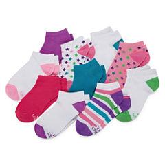 Hanes 10 Pair Low Cut Socks