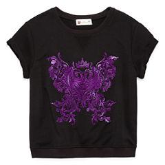 Short Sleeve Descendants Sweatshirt - Big Kid Girls