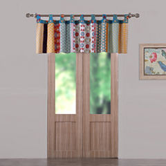 Greenland Home Fashions Thalia Tab-Top Tailored Valance