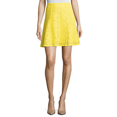 Project Runway Lace Flared Skirts