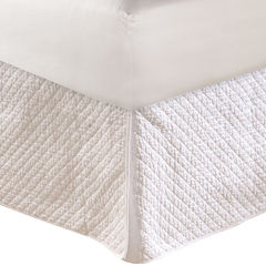 Greenland Home Fashions Diamond Quilted Bedskirt