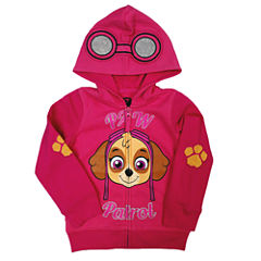 Paw Patrol Long-Sleeve Pink Costume Hoodie - Toddler Girls 2t-4t
