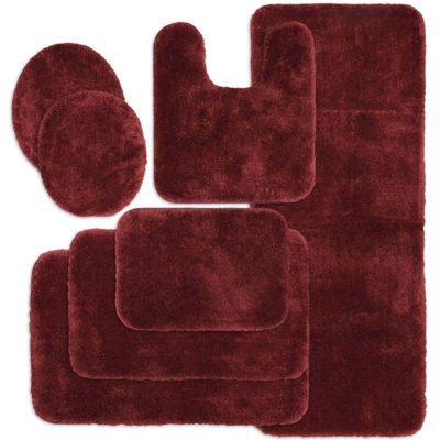 Red Bathroom Rugs Home Decor