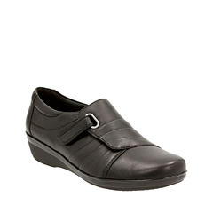Clarks Everlay Luna Womens Slip-On Shoes
