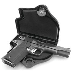 Do All Outdoors Locking Pistol Gun Case
