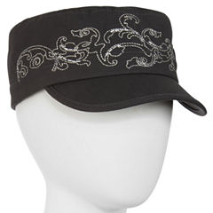 Embroidered Cadet Cap